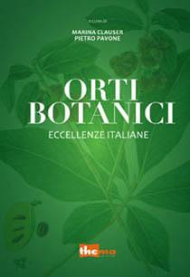 """Copertina """"Orti Botanici, eccellenze italiane"""""""
