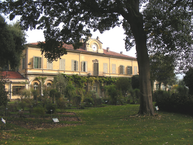 Vista Orto Botanico e edificio