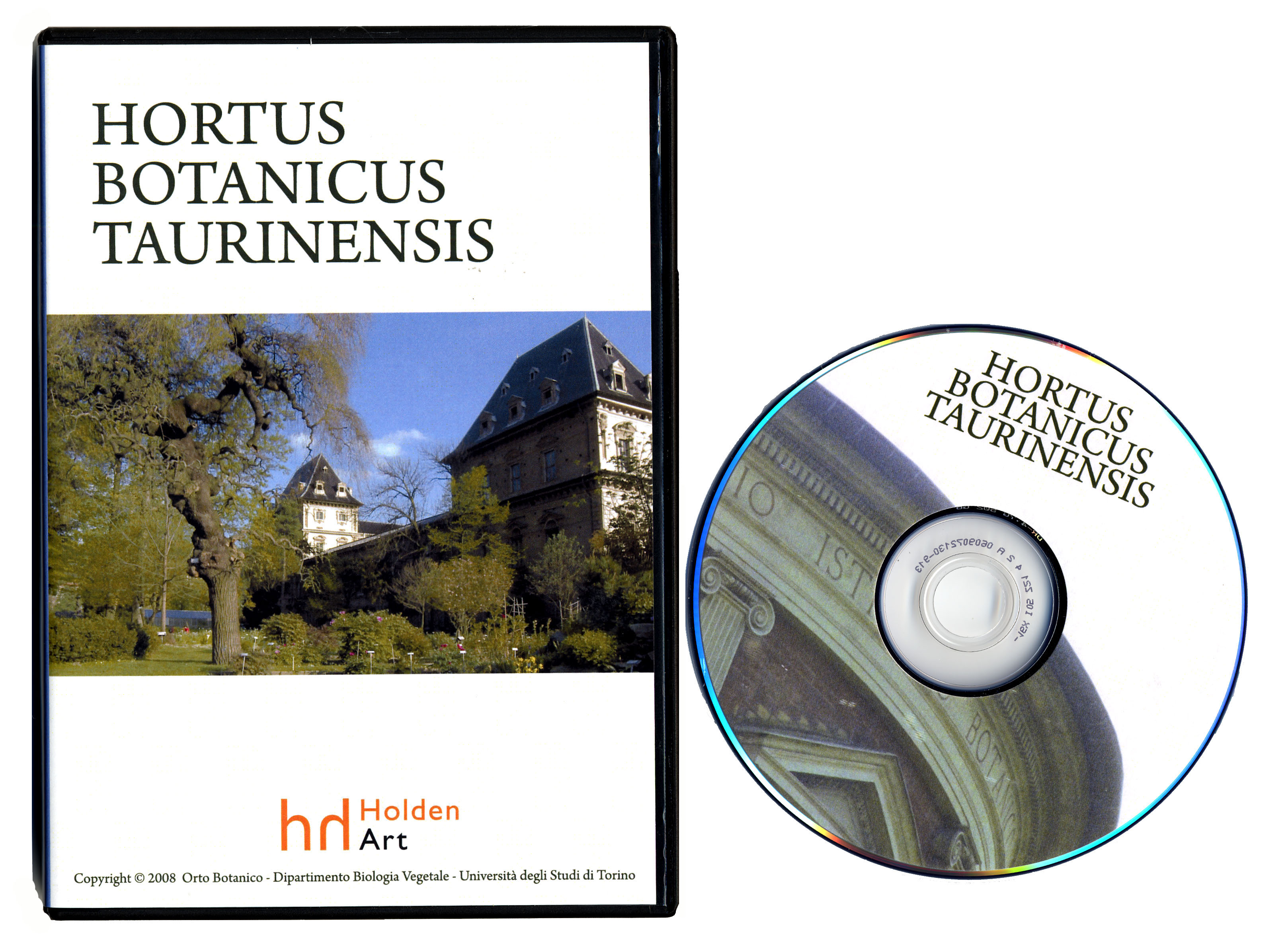 Copertina DVD Orto Botanico di Torino