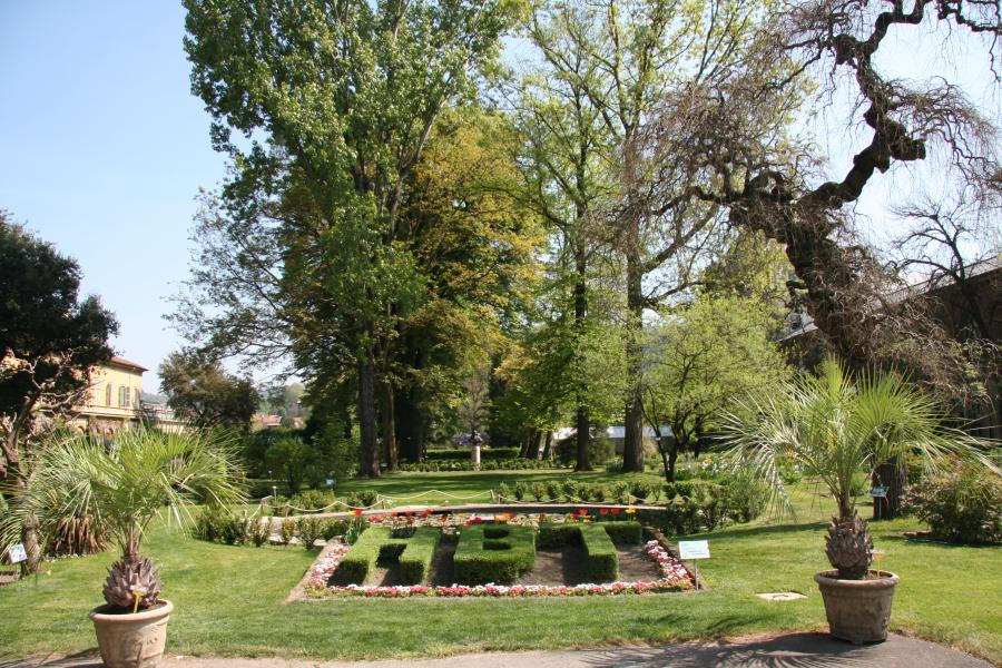 L'ingresso, Orto Botanico di Torino (foto G. Teppa)