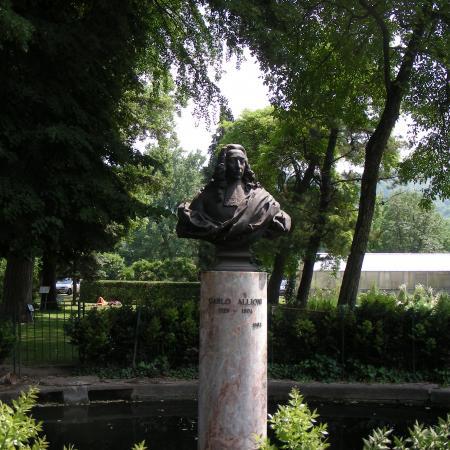 Busto di Carlo Allioni, Orto Botanico di Torino